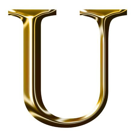 gold alphabet symbol    -  uppercase  letter    photo
