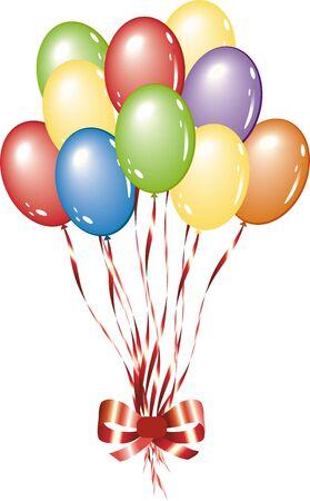 balloon background Stock Vector - 10724821