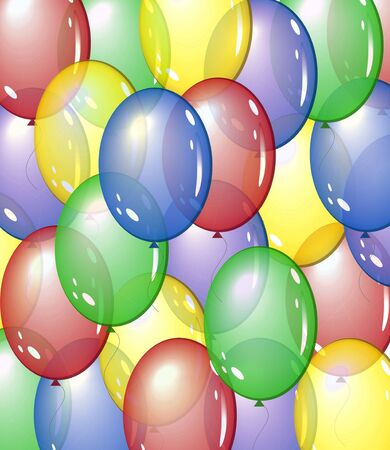 balloon background: balloon background