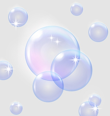 bubbles background , EPS10 Stock Vector - 12251476