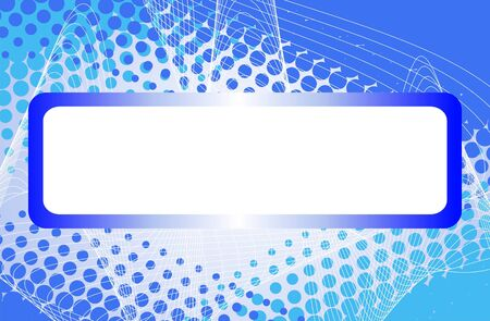 abstract halftone background with place for your text  Vector