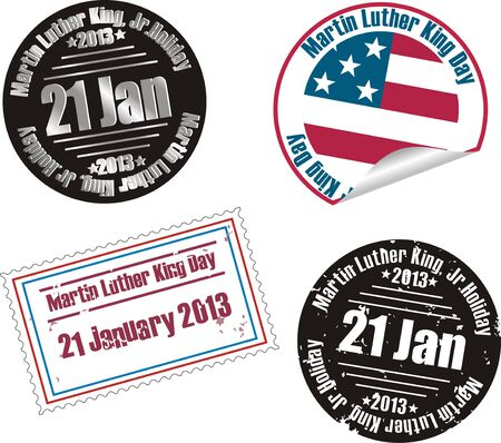 martin: Martin Luther King Jr. Day stamp