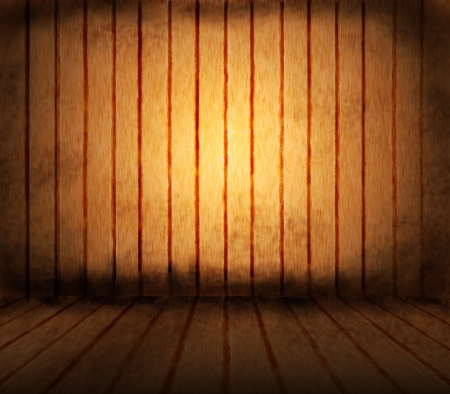 old empty wooden interior for your design Stock Photo - 15384767