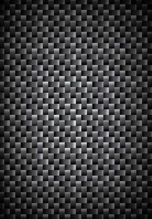 fibra de carbono: Carbon textura de fibra, fondo consolidado fibras cruzadas, EPS10