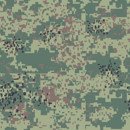 nato: Digital pixel camouflage seamless pattern for your design. Vector Texture
