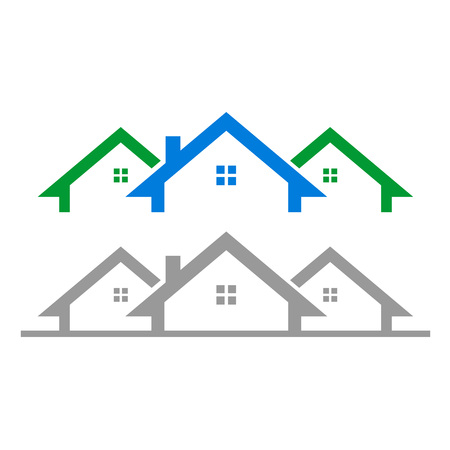 Property housing graphic icons