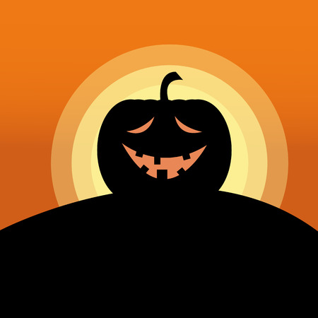 Holiday Halloween Theme Vector Graphic Illustration