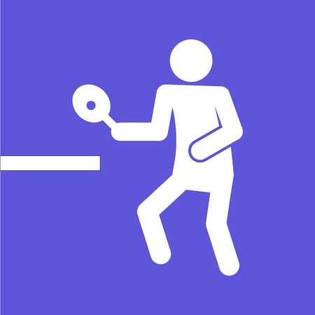 Table Tennis Vector Illustration Graphic Design