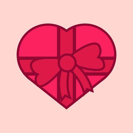 Coeur d & # 39 ; amour coeur illustration vectorielle conception graphique Banque d'images - 93081223