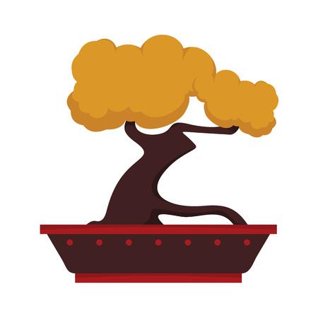 Custom Penjing Trees Vector Illustration Graphic Design Illustration