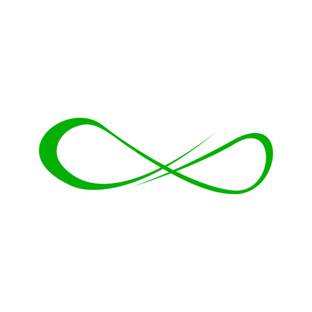 Abstract Infinite Line Art Symbol Vector Illustration Graphic Design