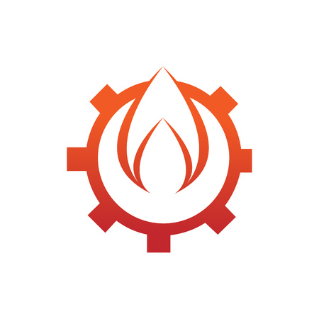 Engineering Spark Fire Flames Element icon
