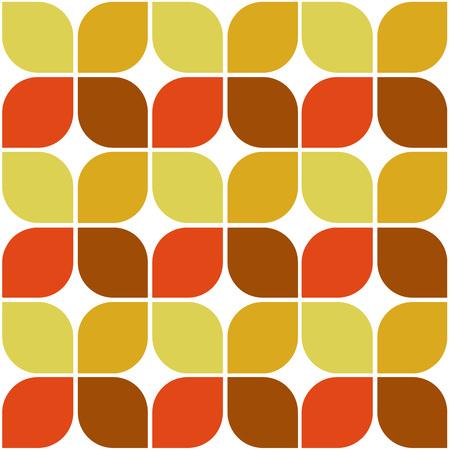 Autumn Pattern Leaves Symbol Background Vector Illustration Graphic Design Template