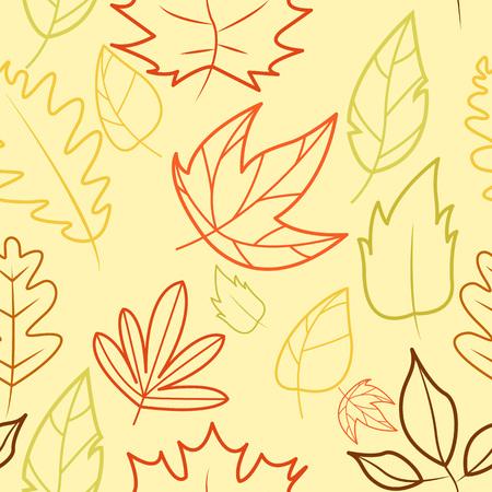 Autumn Wind Outline Background Vector Illustration Graphic Design Template Banque d'images - 119507084
