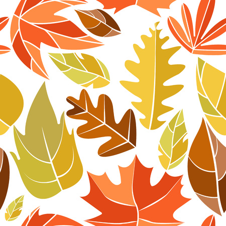 Autumn Wind Background Isolated Vector Illustration Graphic Design Template Banque d'images - 119507086