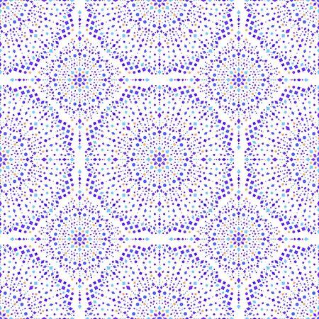 Graceful diamond seamless vector pattern.