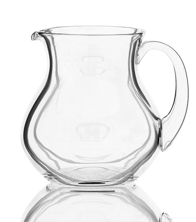unoccupied: jug isolated on white background Stock Photo