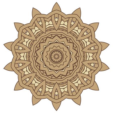 Arabic Colorful Mandala. Ethnic tribal ornaments