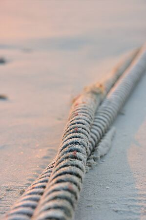 Rope and White sand