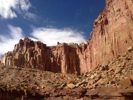 Sandstone gifts in Capitol Reef Utah