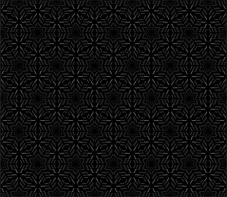 Repeating curl pattern in hexagon layout - seamless editable repeating vector background wallpaper