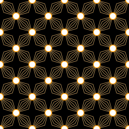 Simple diamond petal pattern in a square matrix layout - seamless editable repeating vector background   wallpaper