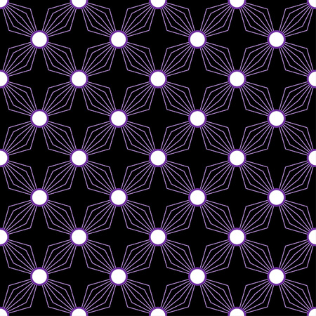 distinctive: Simple diamond petal pattern in a square matrix layout - seamless editable repeating vector background   wallpaper