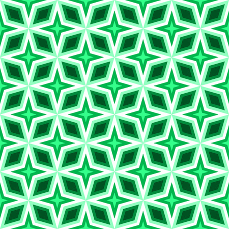 quadrant: Simple diamond petal and star pattern in a square matrix layout - seamless editable repeating vector background wallpaper Illustration