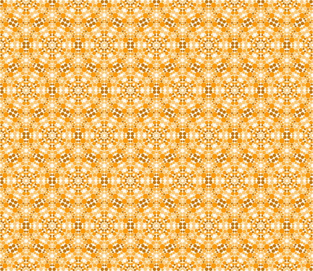 Intricate repeating matrix pattern of dots - seamless editable repeating vector background wallpaper Illustration