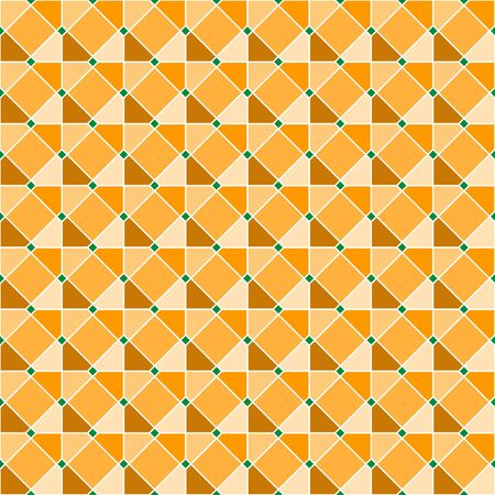 Interlocking tessellation pattern made of overlapping octagons, similar to traditional Islamic geometric patterns - seamless editable repeating vector background Illustration