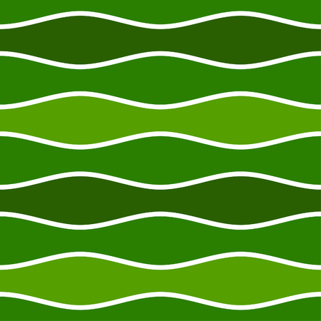Simple repeating wave pattern tile - seamless editable vector background wallpaper