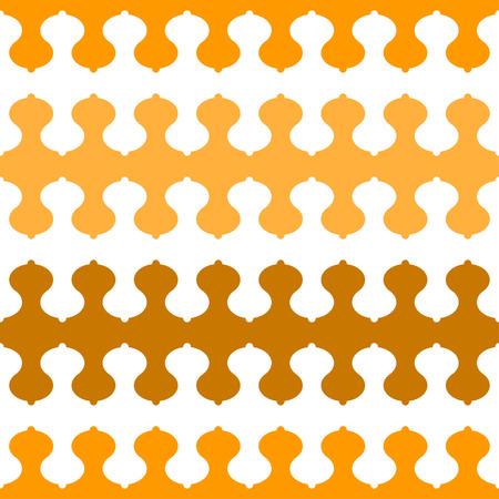 Breast shape wave pattern tile - vector tile background wallpaper
