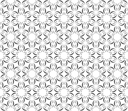 Repeating swoosh pattern in hexagon layout - seamless editable repeating vector background wallpaper