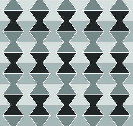 Modern geometric pattern in the shape of an egg cup  timer - seamless editable repeating vector background wallpaper, can be tiled