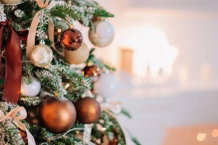 Christmas tree balls decoration
