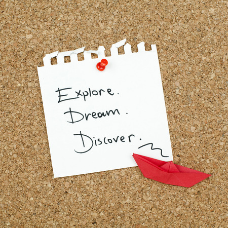 discover: Explore Dream Discover
