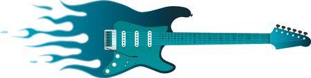 炎とギター