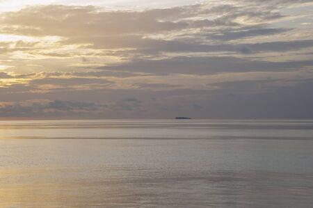 maldives island: Sunset time  at Maldives Island.