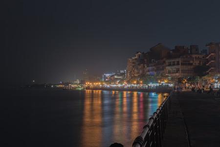 sui: Tam shui, sea-side district in New Taipei, Taiwan