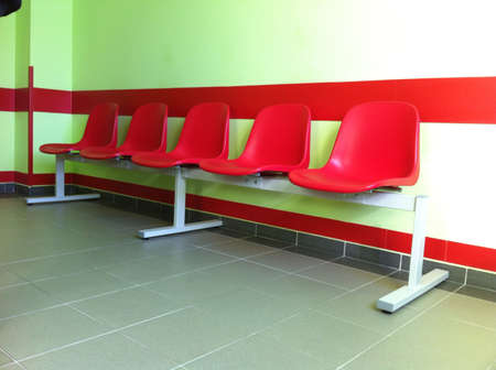 outpatient: Chairs in a row