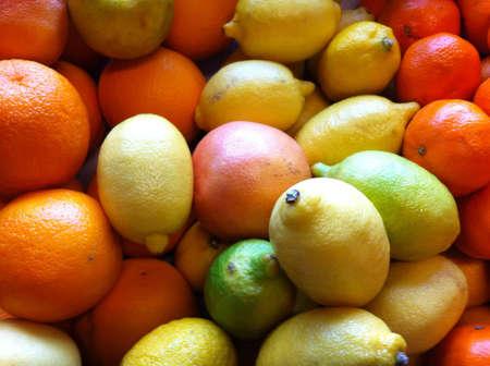 Cirus fruits background Stock Photo