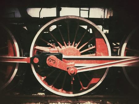 grunge: Old steam locomotive