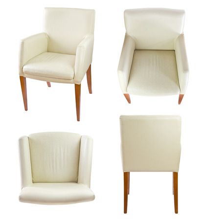 leather chair: chairs set, VOL 2, clipping path included