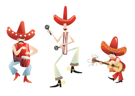 mariachi: funny mexican band