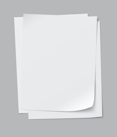 vector stack of papers - easy to edit