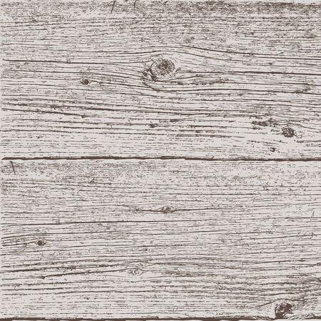 Vector illustration of old wooden planks