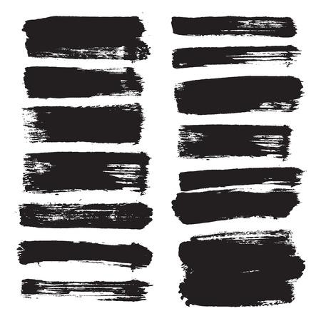 peinture blanche: vecteur coups de pinceau VOL 3