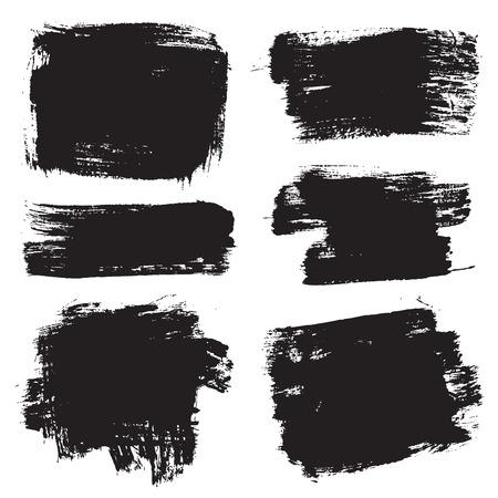 peinture blanche: vecteur coups de pinceau VOL 1 Illustration