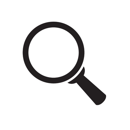 magnifying glass icon Stock Vector - 31571158