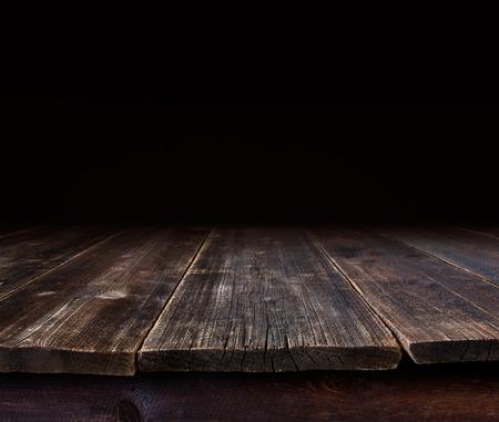 古いテーブルな背景